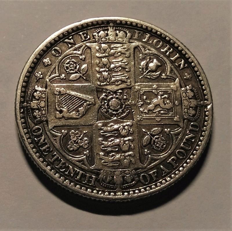 UN FLORÍN, 1849 - Reina Victoria, Gran Bretaña. Img_2137