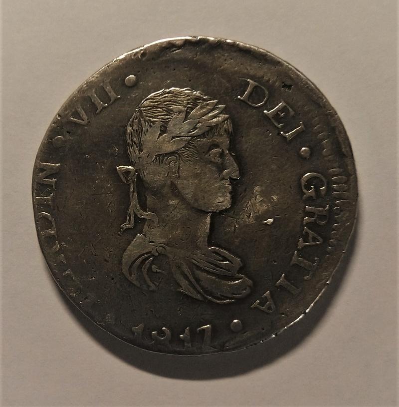8 Reales 1817. Fernando VII. Durango MZ Img_2140