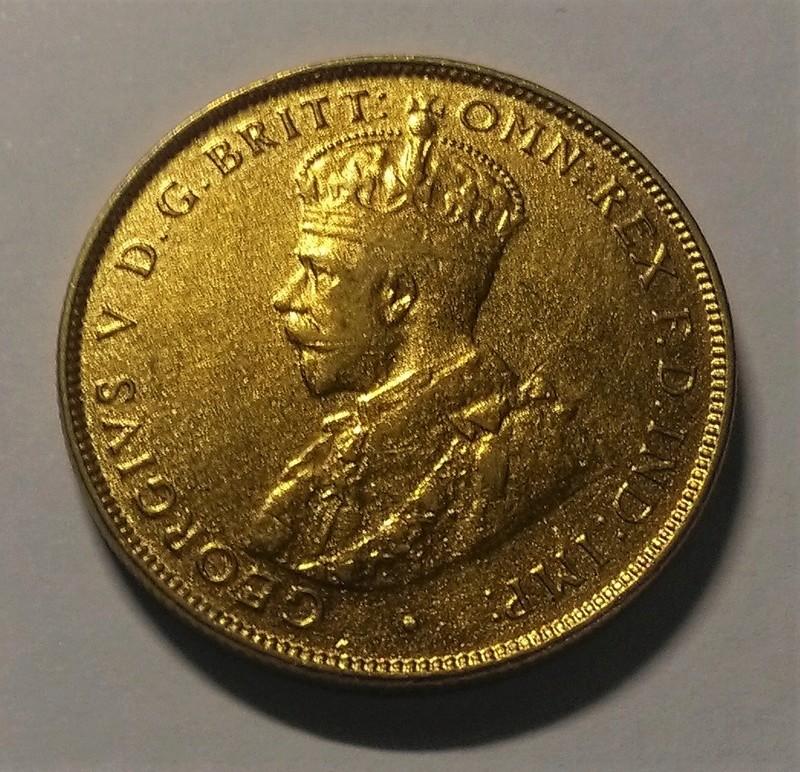 JORGE V: 2 Chelines - África Occidental Británica, 1923 Img_2143