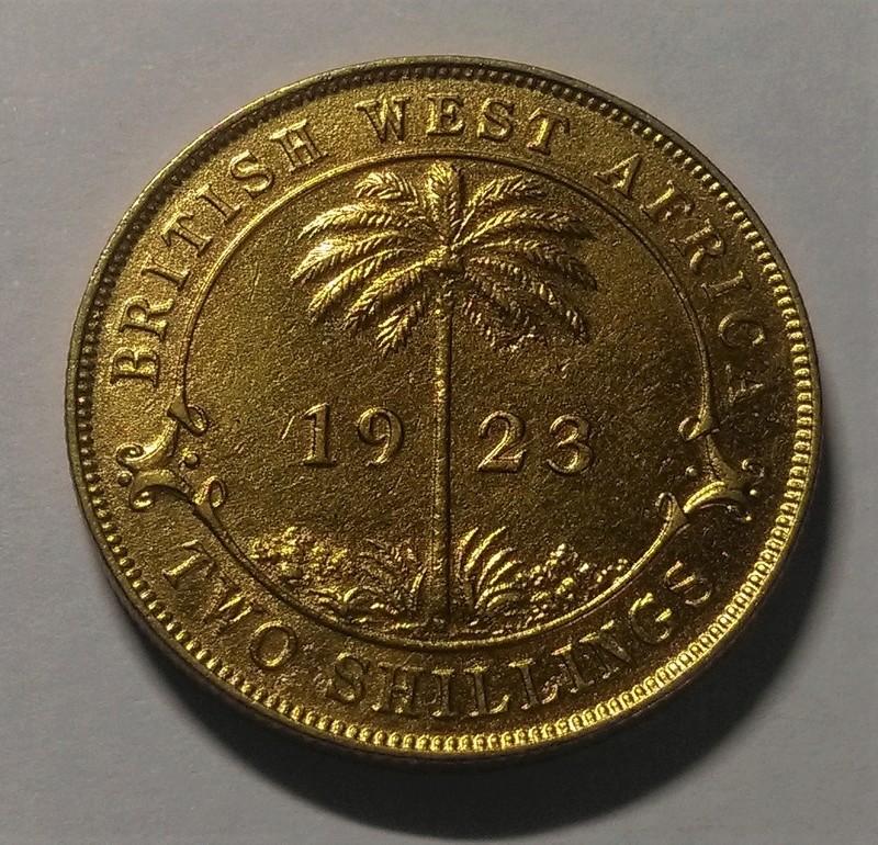 JORGE V: 2 Chelines - África Occidental Británica, 1923 Img_2144