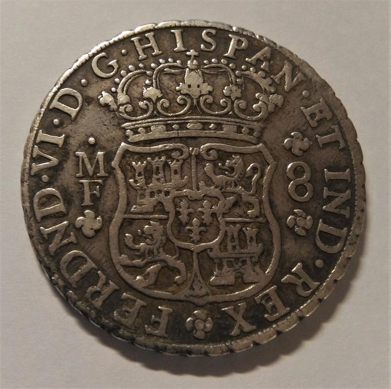 FERNANDO VI: 8 Reales - México, 1754 MF Img_2146