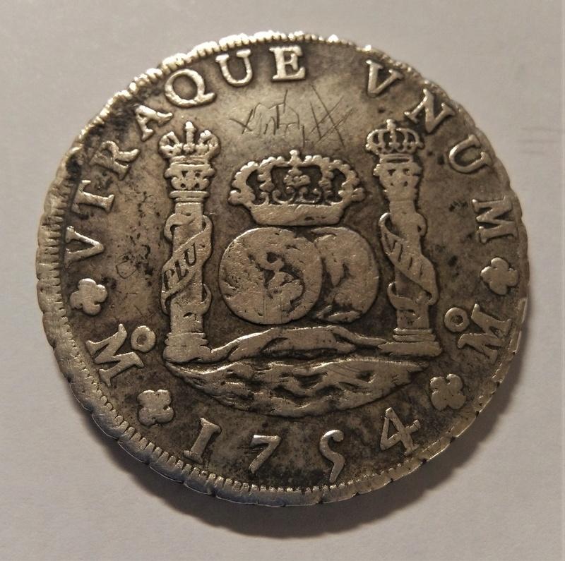 FERNANDO VI: 8 Reales - México, 1754 MF Img_2147