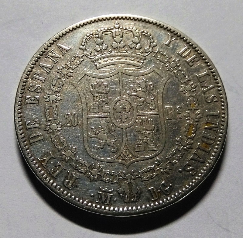20 Reales 1833. Fernando VII. Madrid DG Img_2151