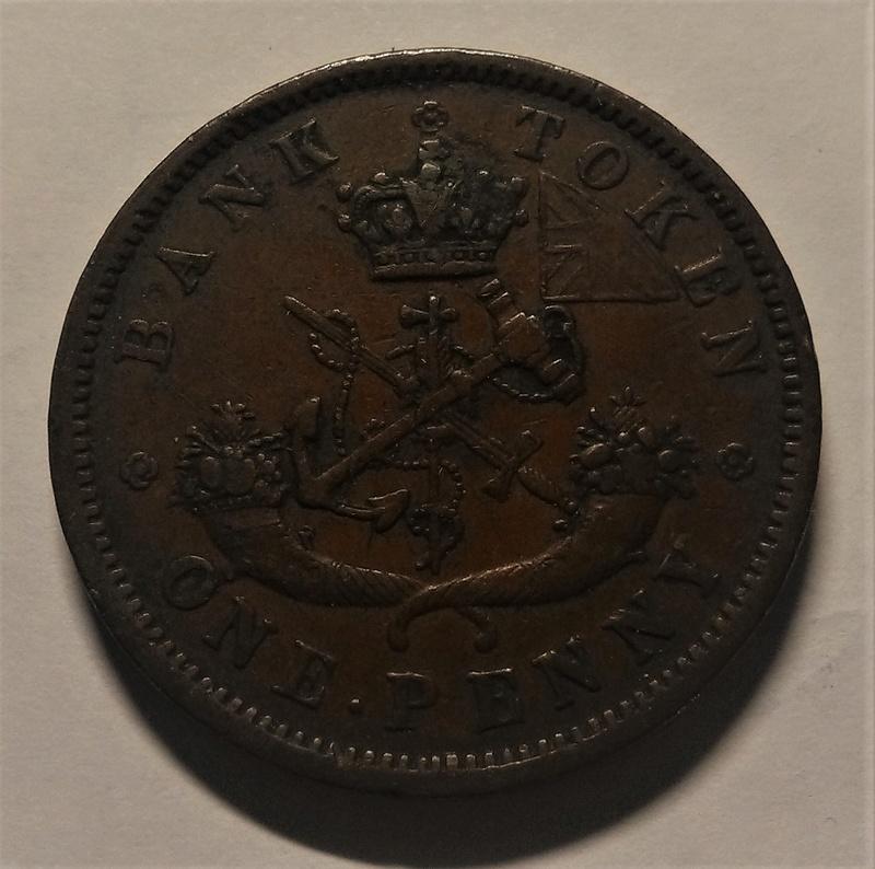 UN PENIQUE - Banco del Alto Canadá, 1857 Img_2153