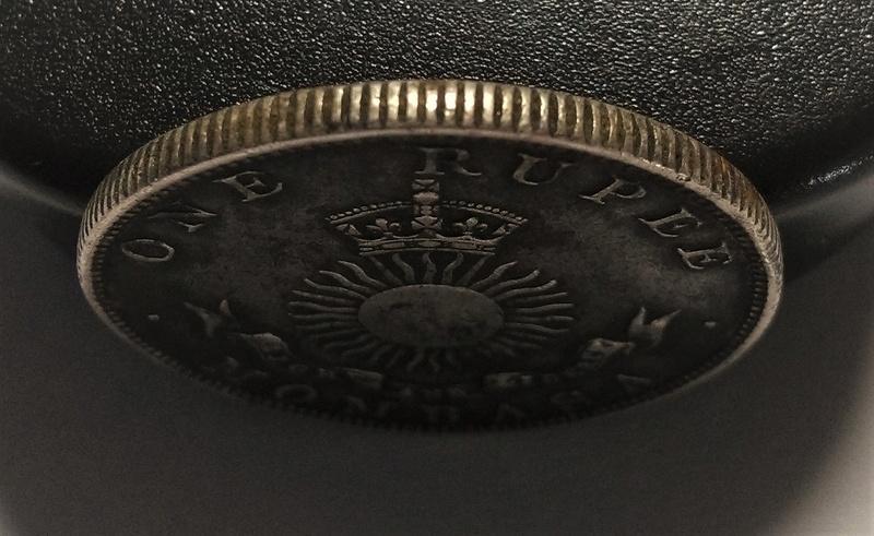 UNA RUPIA - Mombasa, 1888 - Compañía Británica del África Oriental Img_2165
