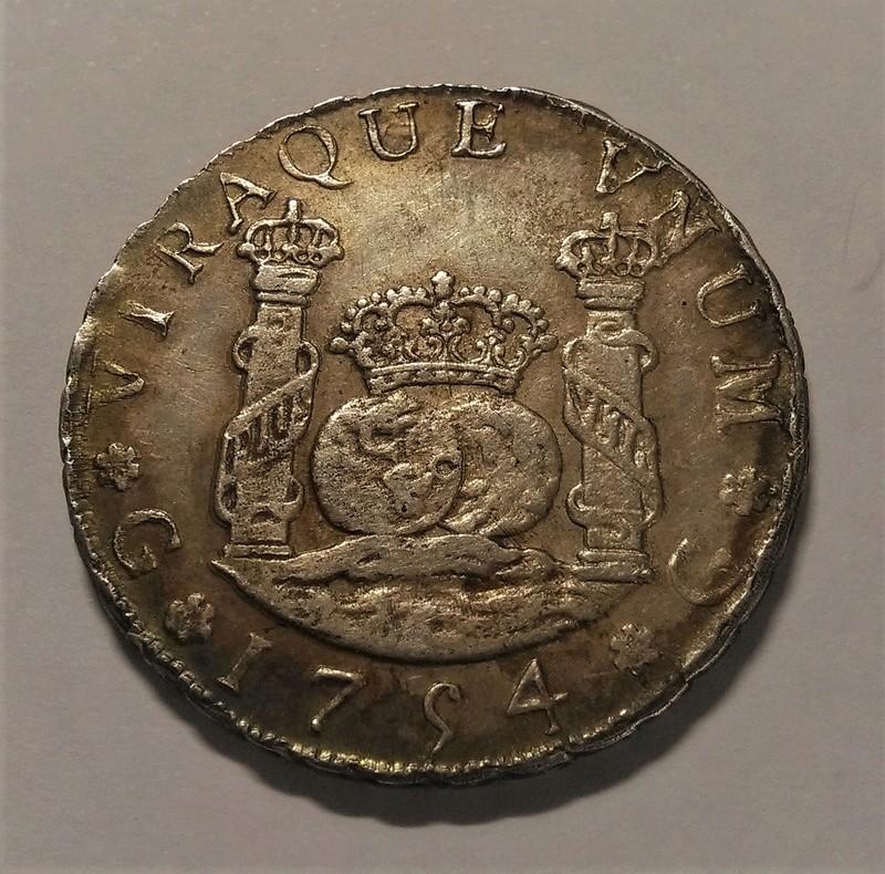 4 Reales de Fernando VI de 1754, Guatemala. Columnario Img_2167