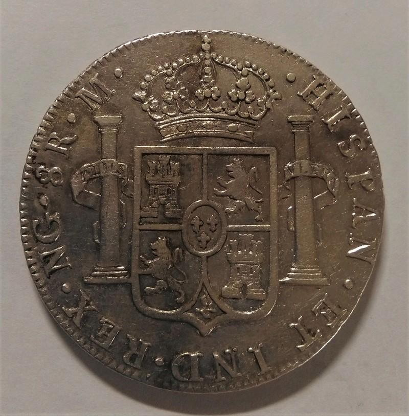 8 Reales 1790. Carlos IV. Guatemala. Busto de Carlos III Img_2171