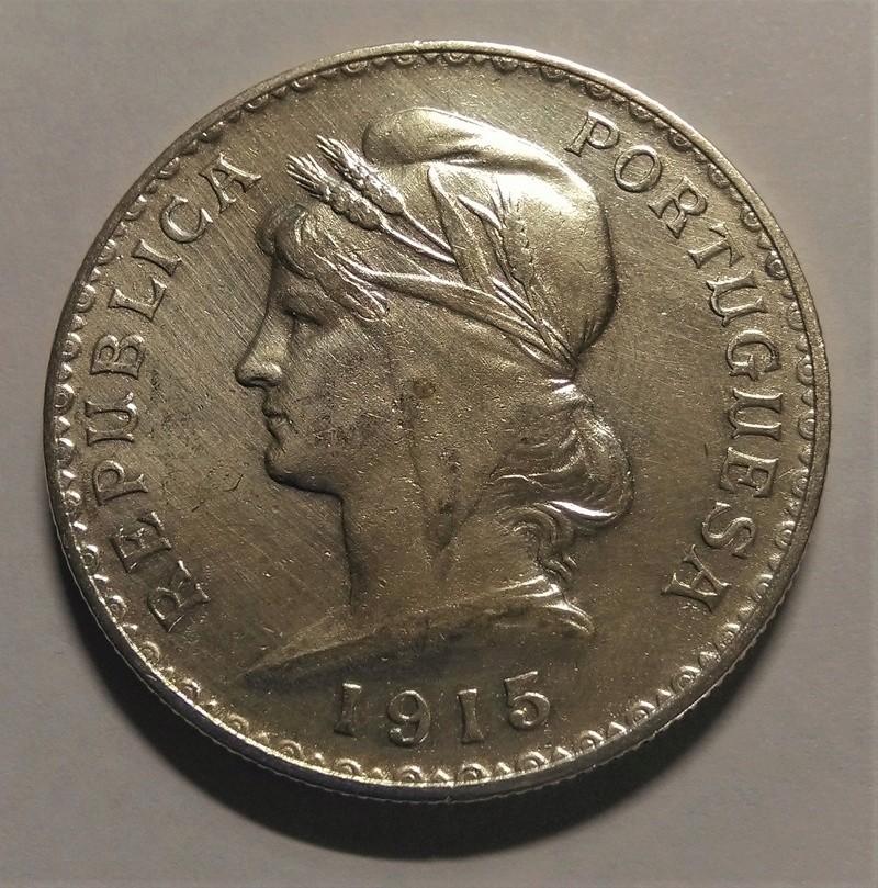 PORTUGAL: 1 Escudo, 1915 Img_2179