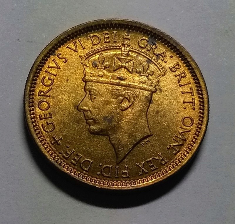 6 Peniques - Jorge VI - África Occidental Británica, 1952 Img_2189