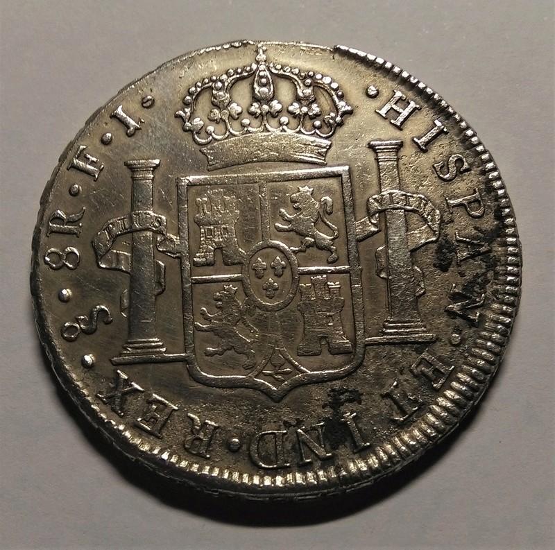 8 Reales 1805. Carlos IV. Santiago de Chile Img_2193