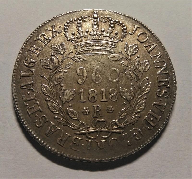 960 Reis/Resellados - Joao VI - Brasil, 1818 Img_2194