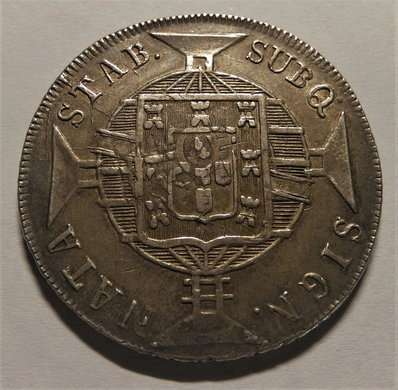 960 Reis/Resellados - Joao VI - Brasil, 1818 Img_2195
