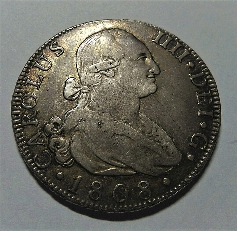 8 Reales 1808 Carlos IV. Madrid AI Img_2203