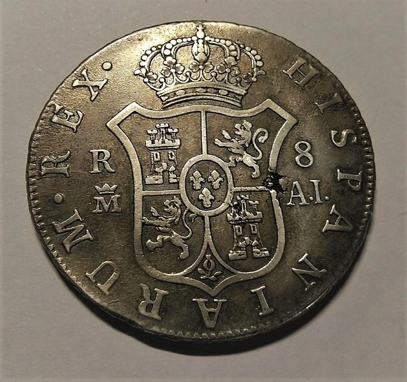 8 Reales 1808 Carlos IV. Madrid AI Img_2204