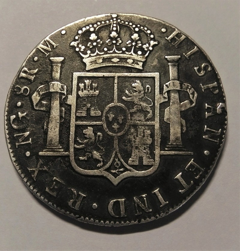 8 Reales - Carlos III - Guatemala, 1787 Img_2246