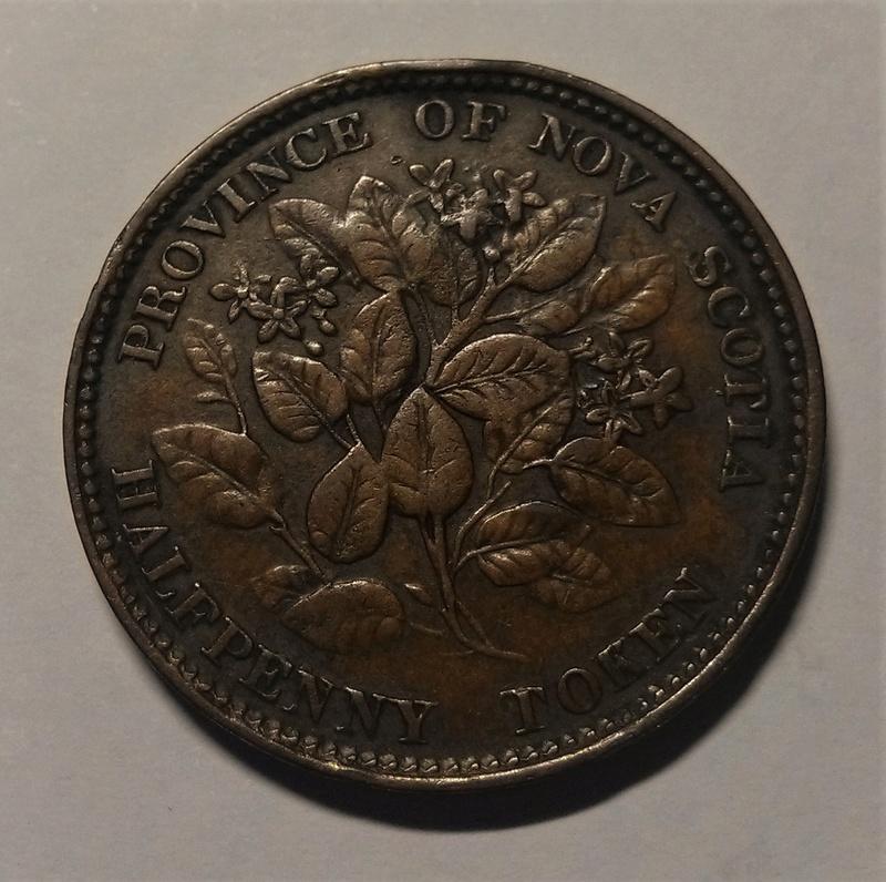1/2 Penique - Canadá / Nueva Escocia, 1856 Img_2252