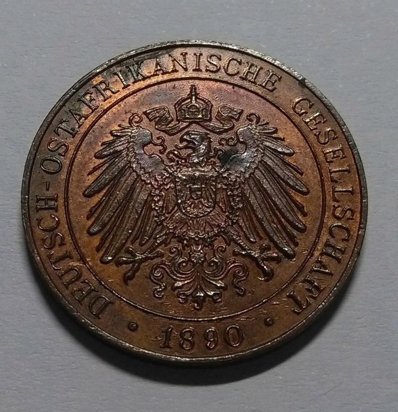 1 Pesa, África Oriental Alemana, 1890 Img_2255