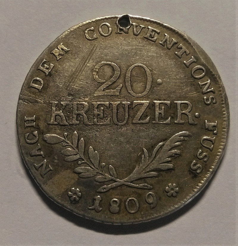 20 Kreuzer - Insurrección del Tirol, 1809 Img_2261