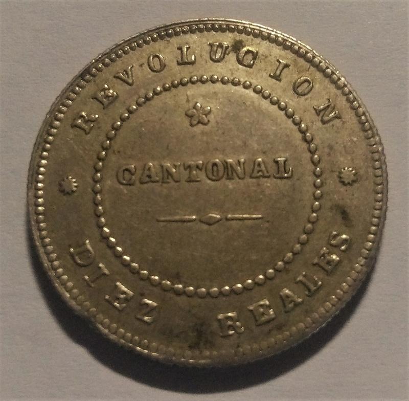 10 Reales 1873. Revolución Cantonal. Cartagena Img_2269