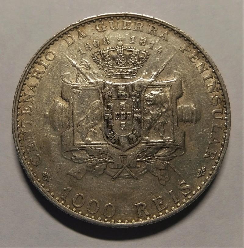 1910 - 1000 Reis de Manuel II - Portugal, 1910 Img_2277