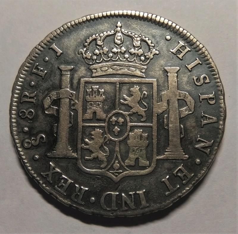 8 Reales 1810. Fernando VII. Santiago de Chile. Busto Almirante Img_2280