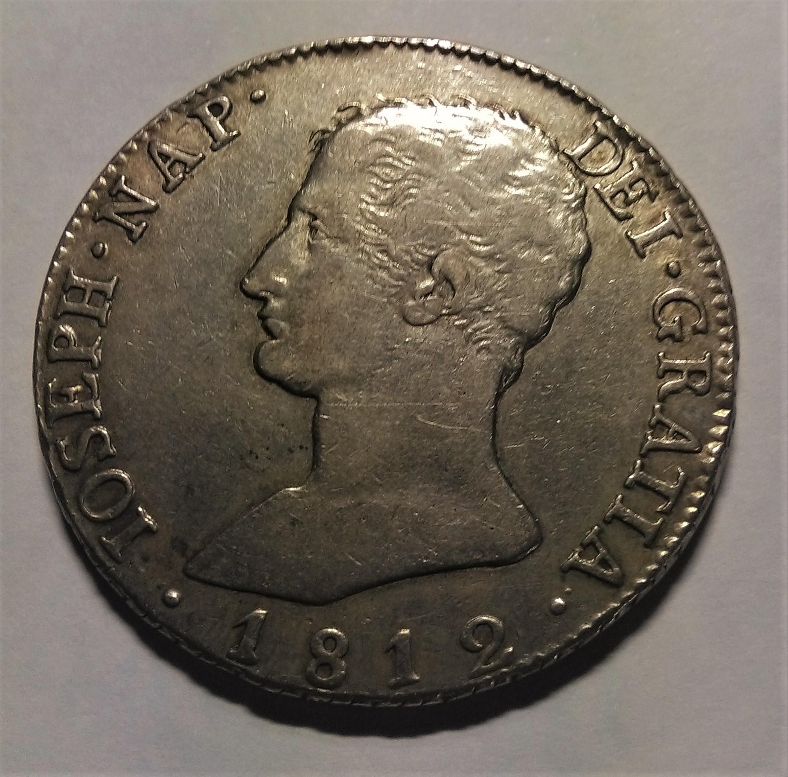 20 reales 1812. José Napoleón. Sevilla Img_2294