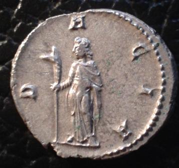 Antoniniano de Trajano Decio. DACIA. Dacia estante a izq. Roma. 20160215