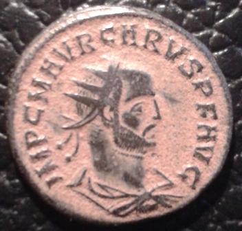 Aureliano de Caro. CLEMENTIA TEMP. Emperador y Júpiter. Cycico. 20160216