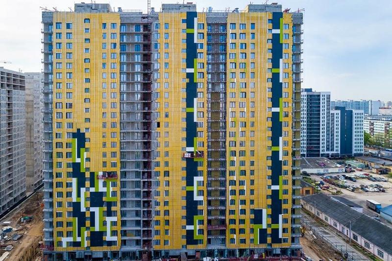 """На ЖК """"Летний сад"""" - начался монтаж фасадных конструкций! Теплозвукоизоляция под ними - лучше, чем у соседнего ЖК """"Город"""" - Страница 6 1122"""