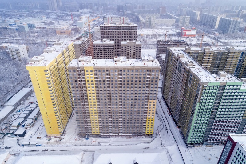"""На ЖК """"Летний сад"""" - начался монтаж фасадных конструкций! Теплозвукоизоляция под ними - лучше, чем у соседнего ЖК """"Город"""" - Страница 3 116"""