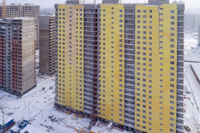 """На ЖК """"Летний сад"""" - начался монтаж фасадных конструкций! Теплозвукоизоляция под ними - лучше, чем у соседнего ЖК """"Город"""" - Страница 3 22222215"""