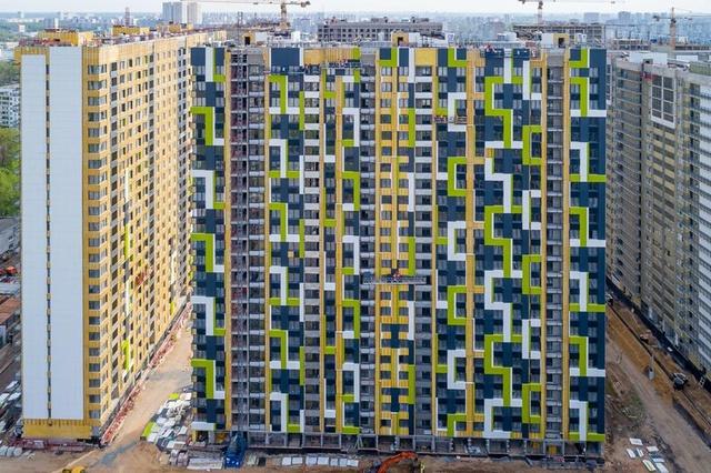 """На ЖК """"Летний сад"""" - начался монтаж фасадных конструкций! Теплозвукоизоляция под ними - лучше, чем у соседнего ЖК """"Город"""" - Страница 6 224"""