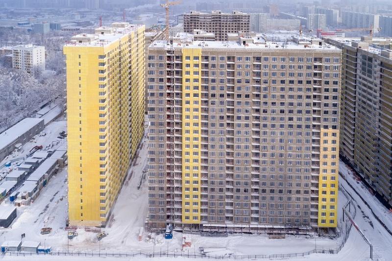 """На ЖК """"Летний сад"""" - начался монтаж фасадных конструкций! Теплозвукоизоляция под ними - лучше, чем у соседнего ЖК """"Город"""" - Страница 3 613"""
