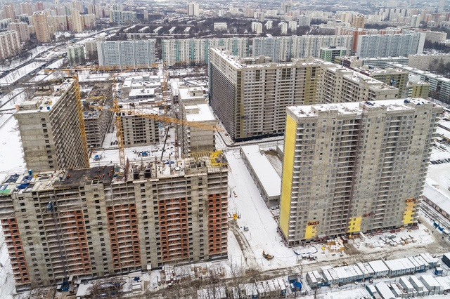 """На ЖК """"Летний сад"""" - начался монтаж фасадных конструкций! Теплозвукоизоляция под ними - лучше, чем у соседнего ЖК """"Город"""" K5xaop12"""