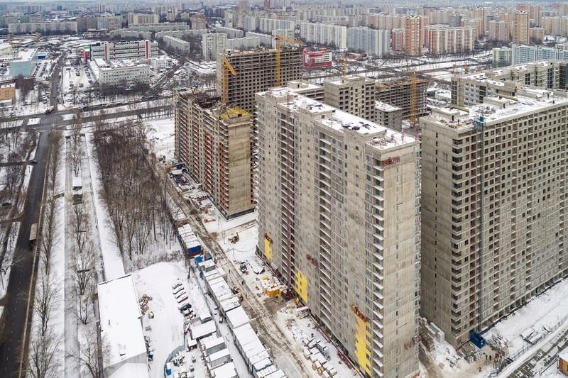 """На ЖК """"Летний сад"""" - начался монтаж фасадных конструкций! Теплозвукоизоляция под ними - лучше, чем у соседнего ЖК """"Город"""" Ypdx8o11"""