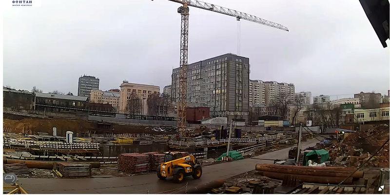 Веб-камеры на площадке строительства ЖК «Серебряный фонтан»  - Страница 2 Baco7r10