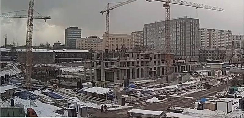Веб-камеры на площадке строительства ЖК «Серебряный фонтан»  - Страница 3 Uw9bk110