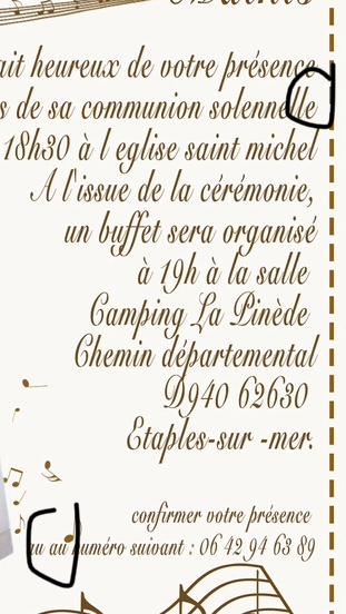 Invitation communion  31d30d10