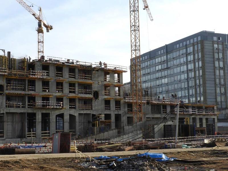 """ЖК """"Серебряный фонтан"""" - очевидно самый масштабный и самый активно строящийся проект в районе ВДНХ: первый большой репортаж с площадки - Страница 3 110"""
