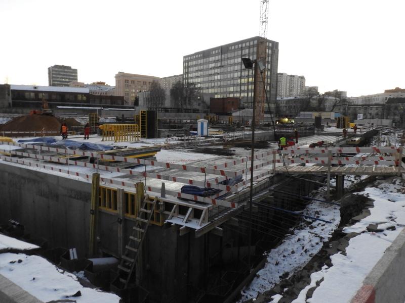 """ЖК """"Серебряный фонтан"""" - очевидно самый масштабный и самый активно строящийся проект в районе ВДНХ: первый большой репортаж с площадки Dscn2310"""
