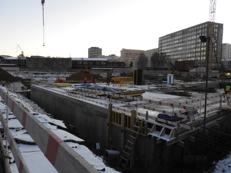 """ЖК """"Серебряный фонтан"""" - очевидно самый масштабный и самый активно строящийся проект в районе ВДНХ: первый большой репортаж с площадки Dscn2311"""