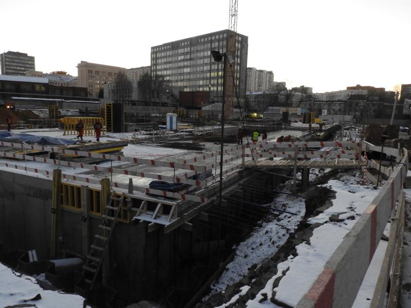"""ЖК """"Серебряный фонтан"""" - очевидно самый масштабный и самый активно строящийся проект в районе ВДНХ: первый большой репортаж с площадки Dscn2312"""