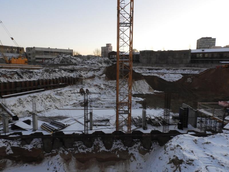 """ЖК """"Серебряный фонтан"""" - очевидно самый масштабный и самый активно строящийся проект в районе ВДНХ: первый большой репортаж с площадки Dscn2313"""