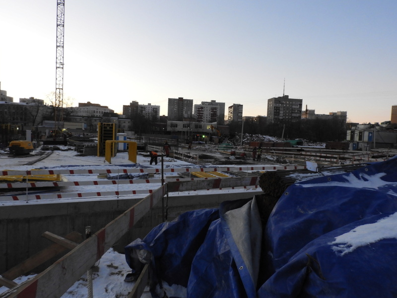 """ЖК """"Серебряный фонтан"""" - очевидно самый масштабный и самый активно строящийся проект в районе ВДНХ: первый большой репортаж с площадки Dscn2314"""