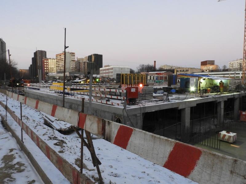 """ЖК """"Серебряный фонтан"""" - очевидно самый масштабный и самый активно строящийся проект в районе ВДНХ: первый большой репортаж с площадки Dscn2316"""