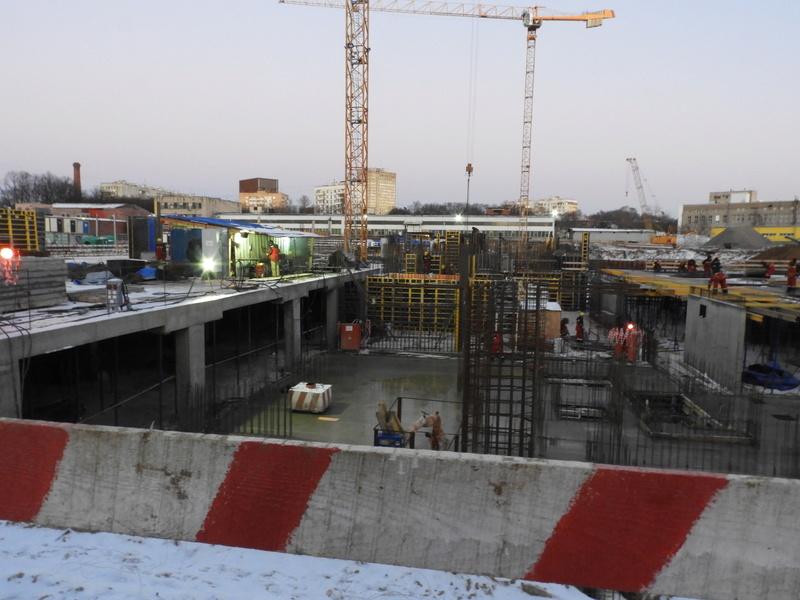 """ЖК """"Серебряный фонтан"""" - очевидно самый масштабный и самый активно строящийся проект в районе ВДНХ: первый большой репортаж с площадки Dscn2410"""