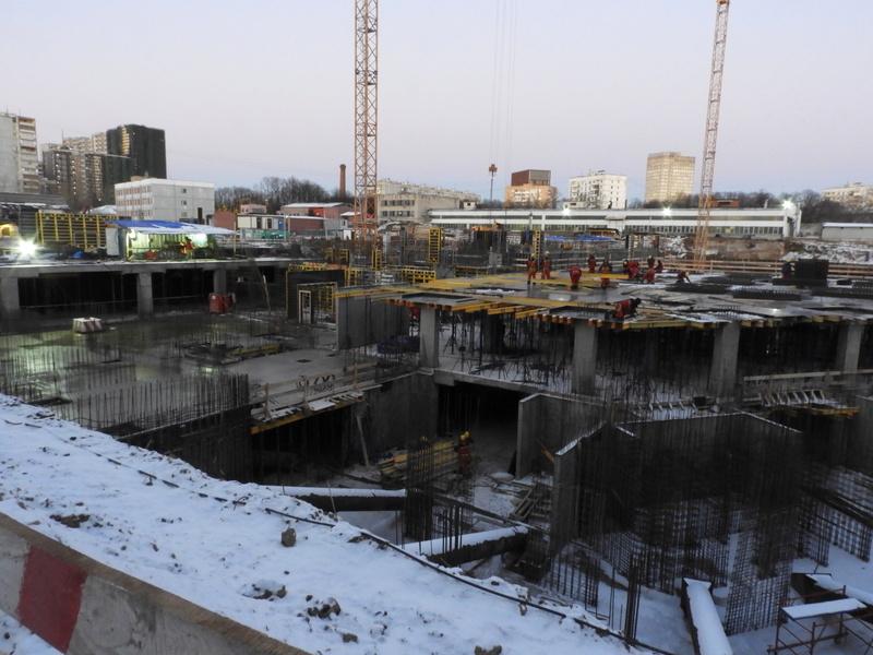 """ЖК """"Серебряный фонтан"""" - очевидно самый масштабный и самый активно строящийся проект в районе ВДНХ: первый большой репортаж с площадки Dscn2411"""