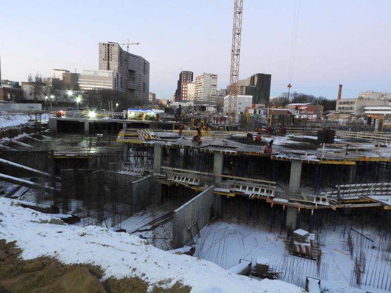 """ЖК """"Серебряный фонтан"""" - очевидно самый масштабный и самый активно строящийся проект в районе ВДНХ: первый большой репортаж с площадки Dscn2412"""