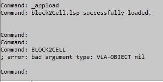 Insertar Block en Tabla 110