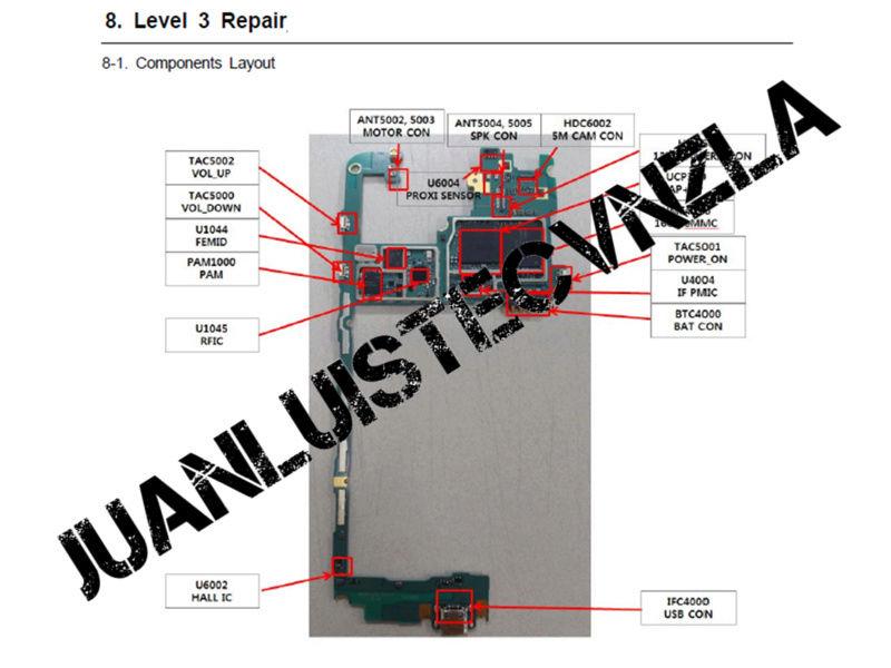 Manual de Servicio Esquematico Samsung J700h J700h10